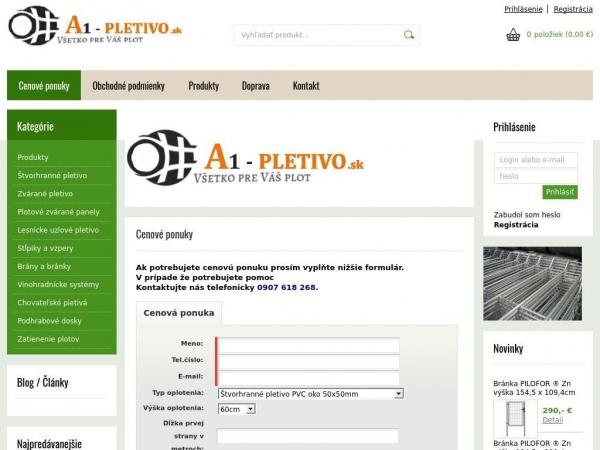 a1-pletivo.sk
