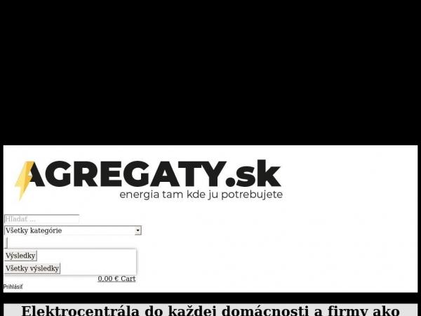 agregaty.sk