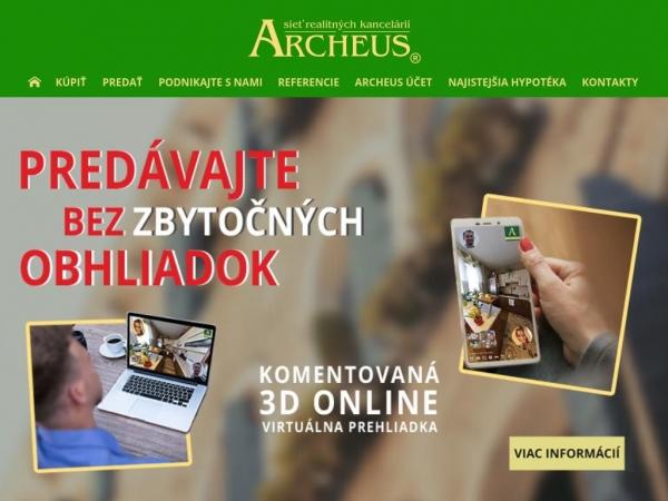 archeus.sk