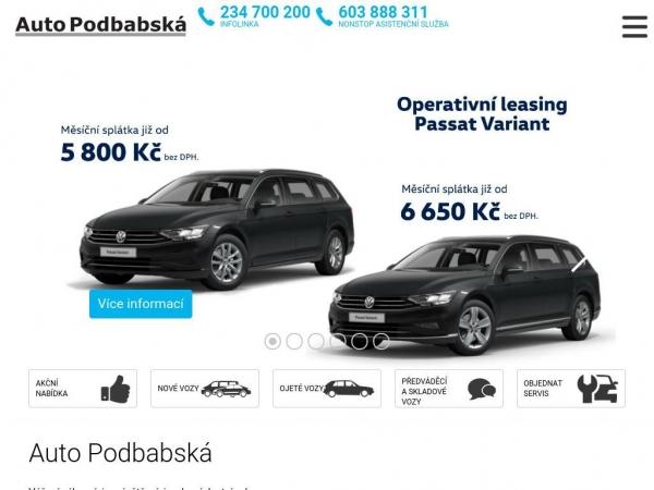 autopodbaba.cz