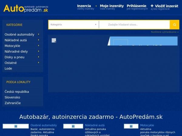 autopredam.sk