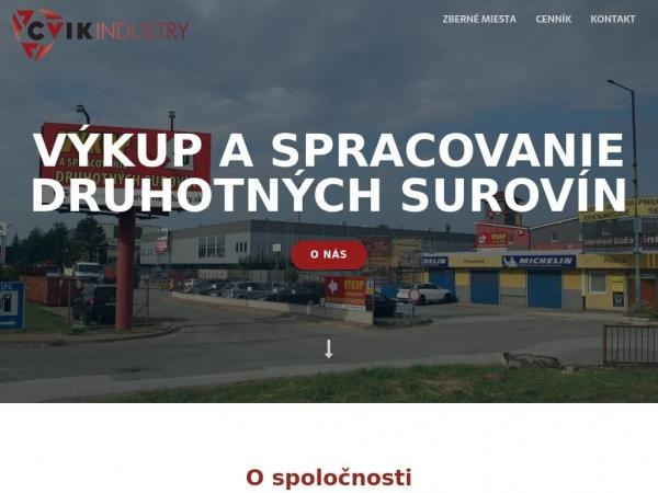 cvikindustry.sk