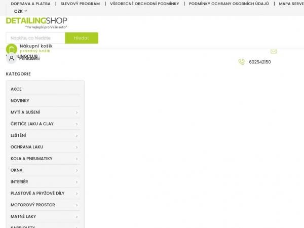 detailingshop.cz