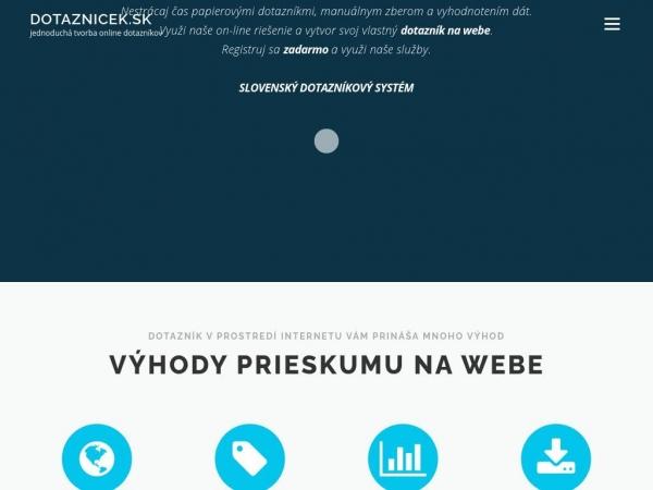 dotaznicek.sk