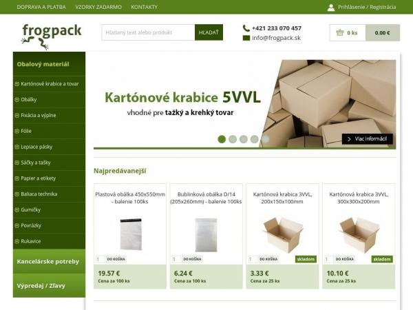 frogpack.sk