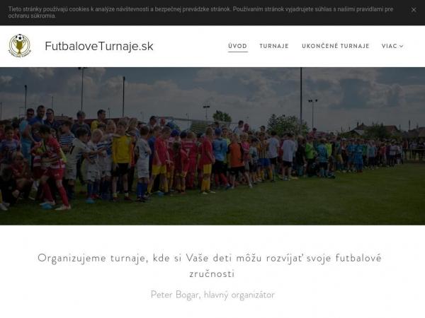 futbaloveturnaje.sk
