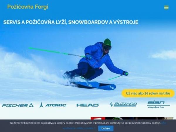 lyze-servis.sk