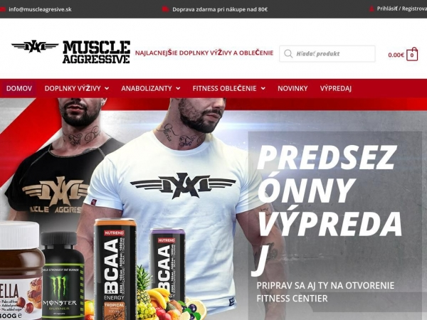 muscleagresive.sk