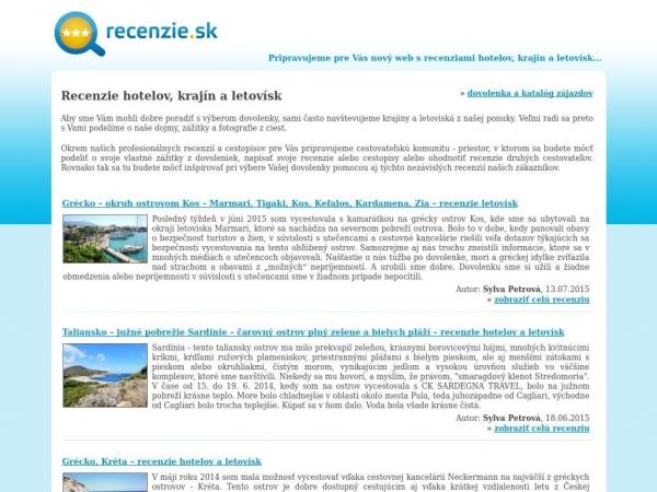 recenzie.sk
