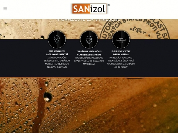 sanizol.sk