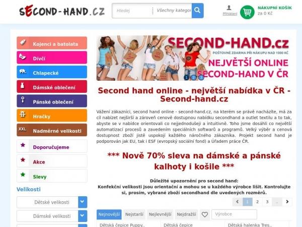 second-hand.cz