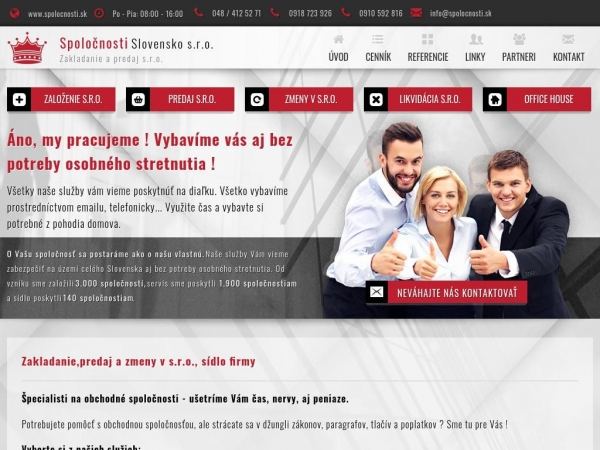 spolocnosti.sk