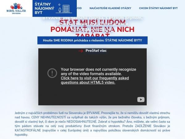 statnynajomnybyt.sk