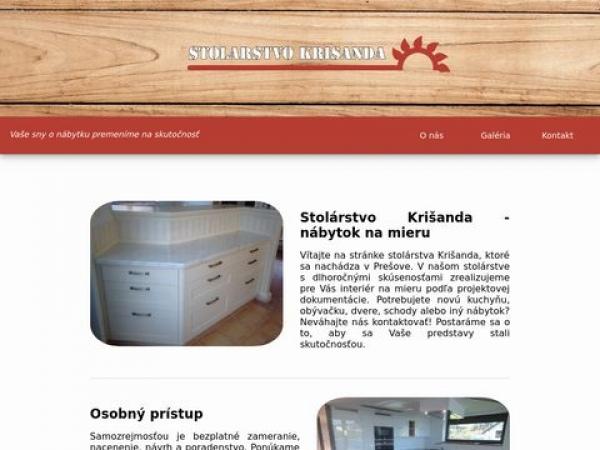 stolarstvokrisanda.sk