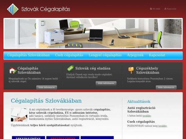 szlovak-cegalapitas.hu