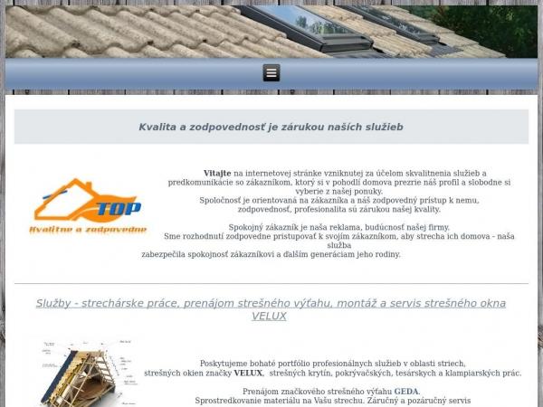 top-strecha.sk