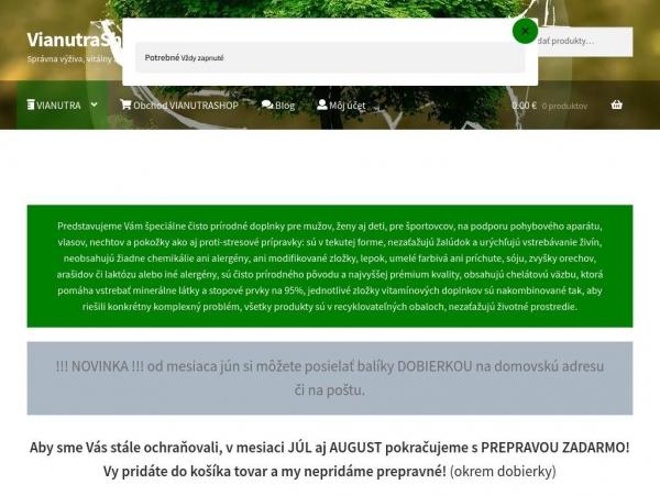 vianutrashop.sk