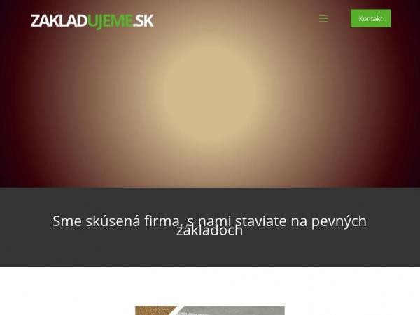 zakladujeme.sk